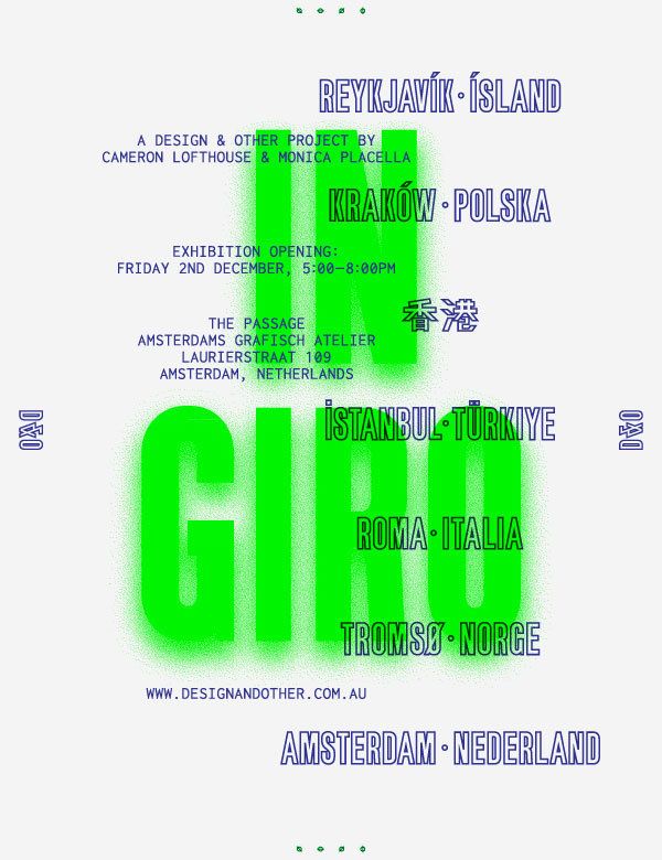 Design & Other - In Giro - Exhibition at AGA