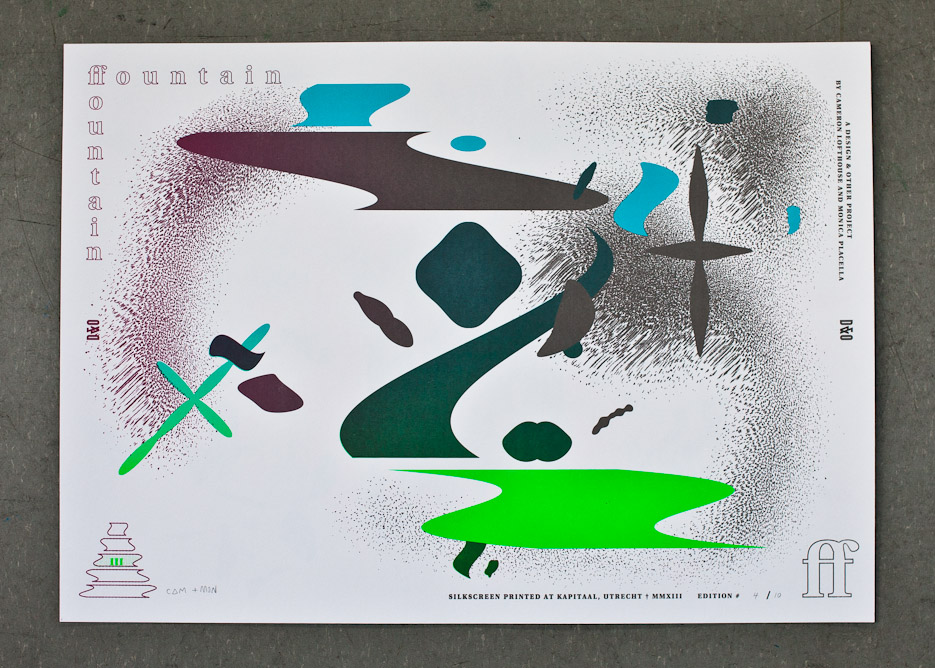 Design & Other - Fountain Fountain - Tier 3 - Silkscreen Print