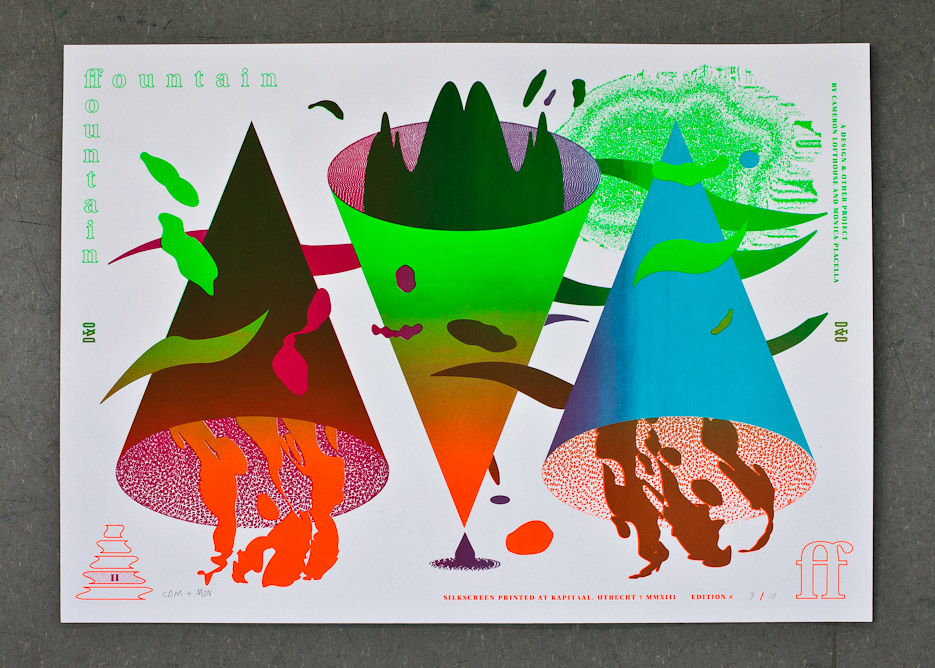 Design & Other - Fountain Fountain - Tier 2 - Silkscreen Print