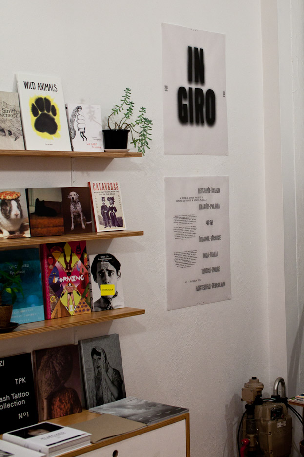 Design & Other - In Giro - Exhibition at Perimeter Books