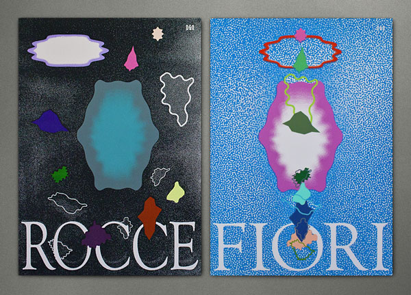 Design & Other - Rocce e Fiori - Silkscreen Diptych