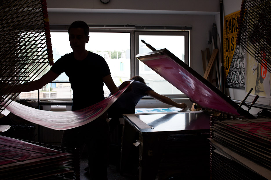 Design & Other - The Snake - Silkscreen Production