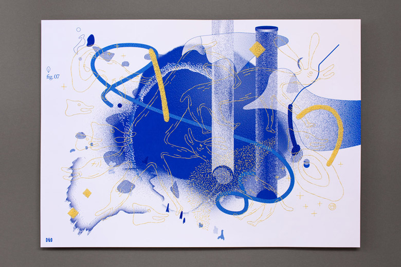Design & Other - Biota - Screenprint Poster